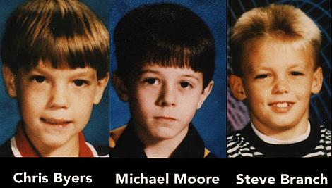 Le 3 vittime di West Menphis