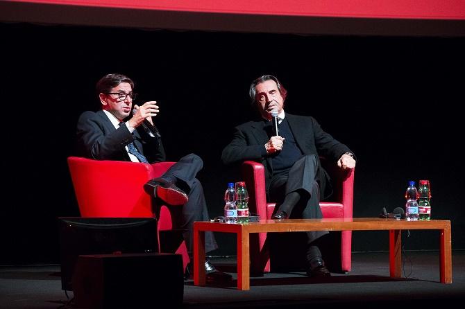 Incontro con Riccardo Muti ©SilviaGerbino