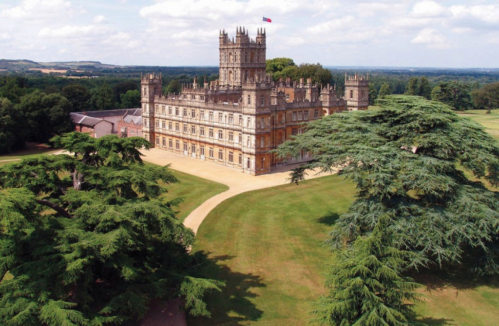 Downton Abbey-Highclere Castle