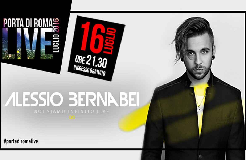 Alessio Bernabei Porta-di-Roma-Live