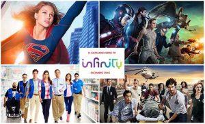Infinity: la programmazione di Dicembre 2016