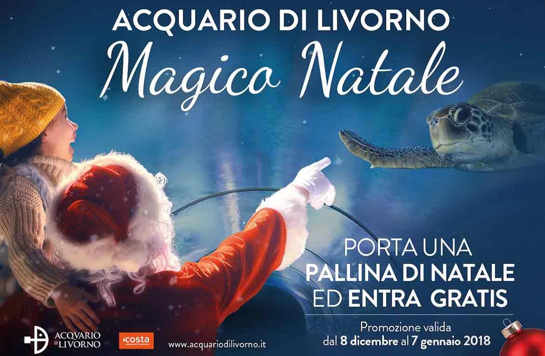 La Magia del Natale all'Acquario di Livorno